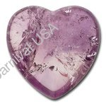 Amethyst Pocket Heart