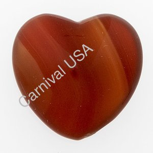 Carnelian Pocket Heart