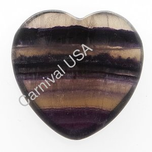 Fluorite Pocket Heart