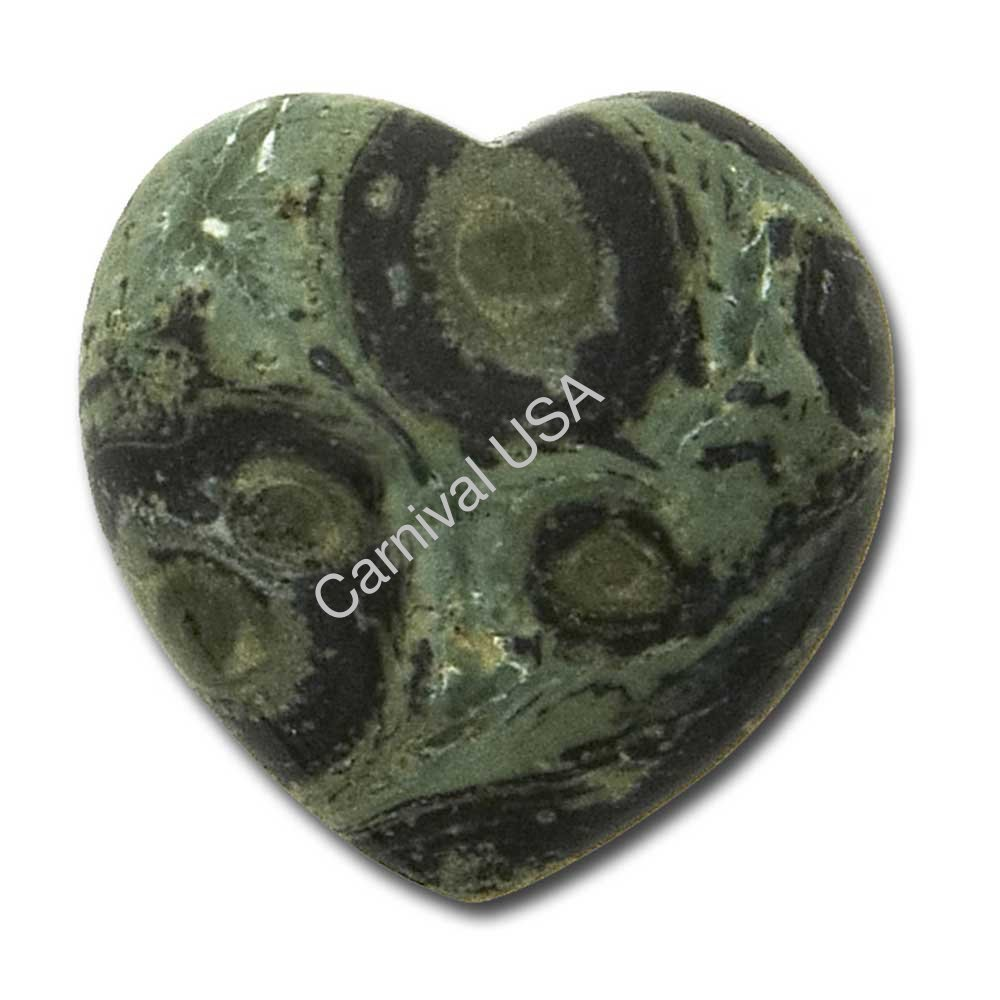 Kamba Jasper Pocket Heart