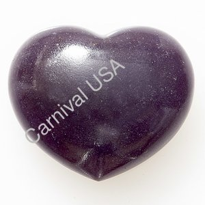 Lepidolite Pocket Heart