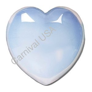 Opalite Pocket Heart