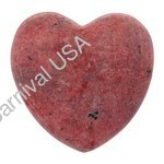 Rhodonite Pocket Heart