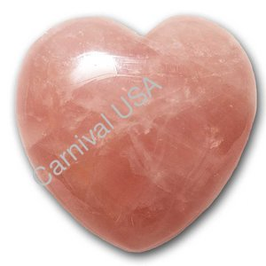 Rose Quartz Pocket Heart