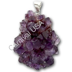 Amethyst Cluster Pendant