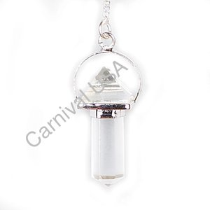 Clear Quartz pyramid Pendulum
